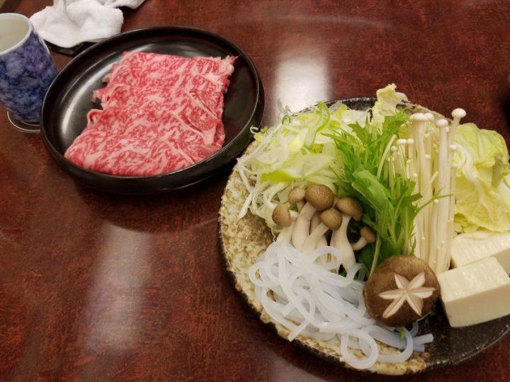 Matsutake Restaurant in the Hilton Narita