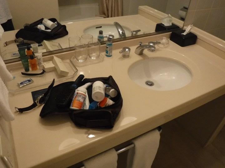 Narita Hilton bathroom vanity
