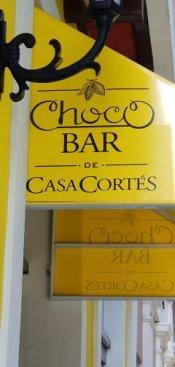 Chocobar Sign