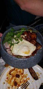 Roy Choi Best Friend rice bowl with pork belly