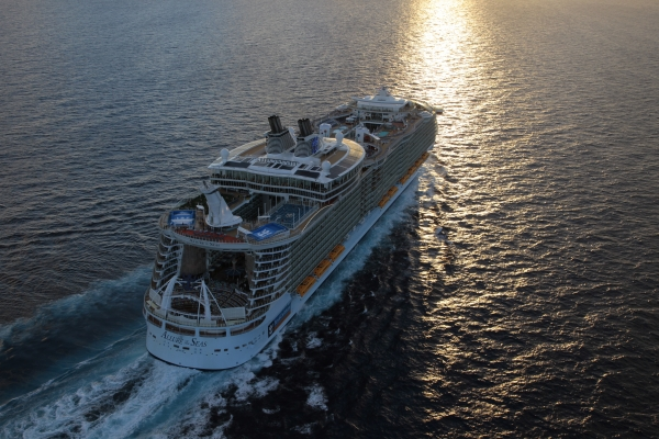 Any upcoming Galveston Oasis Class announcement has been delayed. Pictured here is the Allure of the Seas, which has not yet been scheduled for any other port in late 2021.