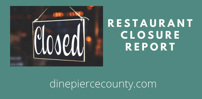 Restaurant closure