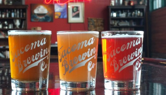 Tacoma Taproom cider and beer