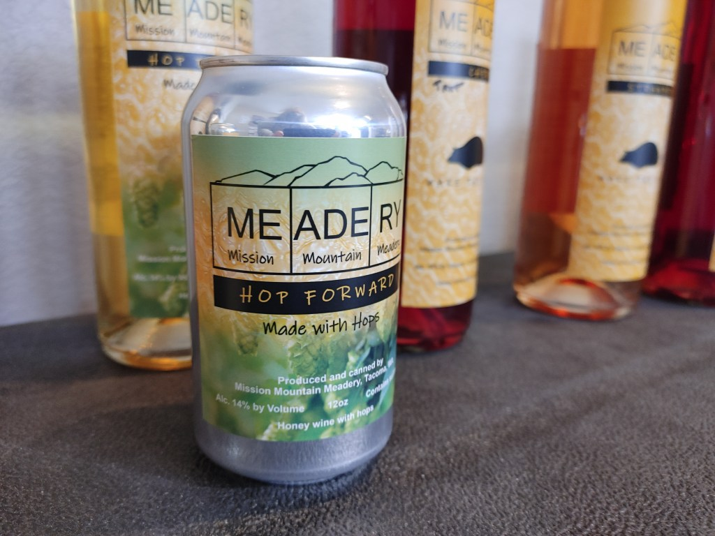 canned mead