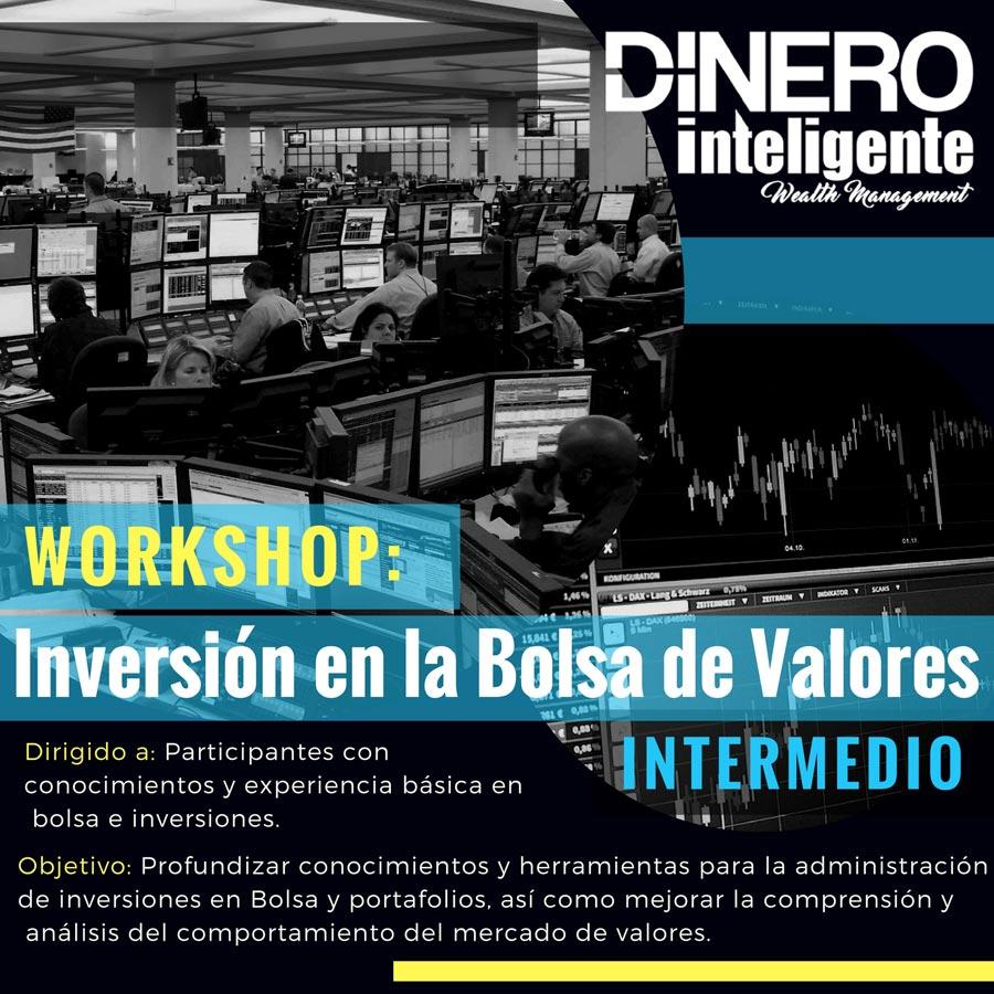 Dinero Inteligente Cursos DirexUBA Inversion Bolsa Valores NYSE Intermedio