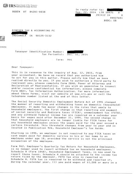 IRS Notice 9-23-14