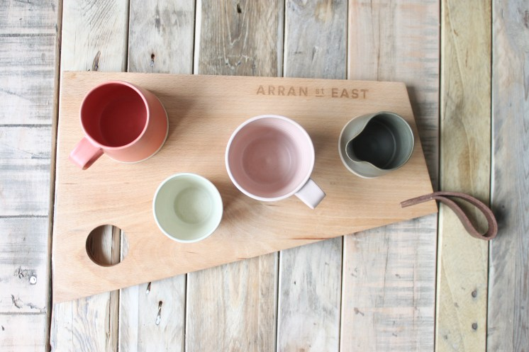 The Breadboard and pots