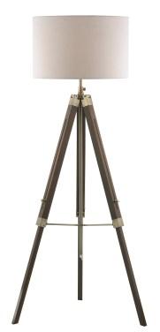 Easel Tripod Floor Lamp from Dar Lighting Group.
