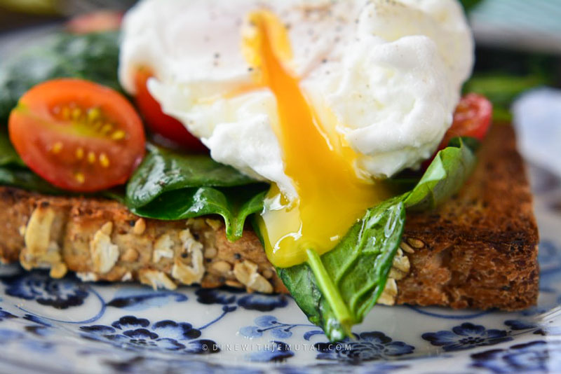 Runny Poached Eggs On Toast