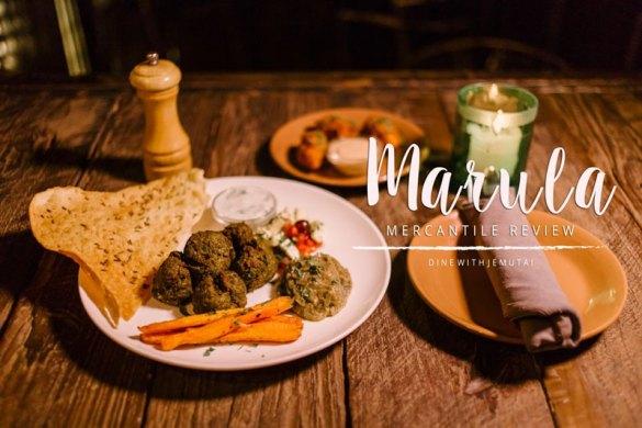 Marula Mercantile Restaurant Review