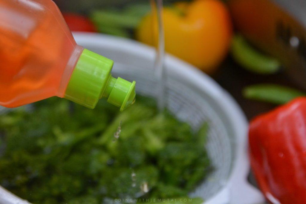 How to Wash Fruit & Veg