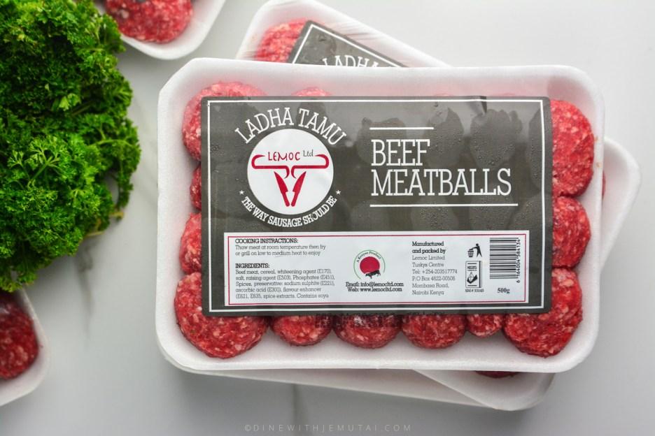 MeatBall Marinara-Lemoc WMK-1