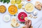 Hummus 3 ways