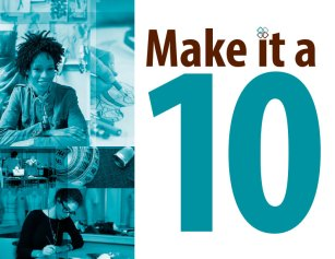 Make it a 10 Poster | Sanford-Brown College