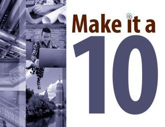 Make it a 10 Poster | Sanford-Brown College