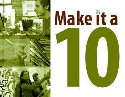 Make it a 10 Poster   Sanford-Brown College