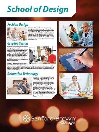 Design Programs Poster | Sanford-Brown College