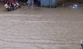 Rain in Dinga 2014 - Flood Water