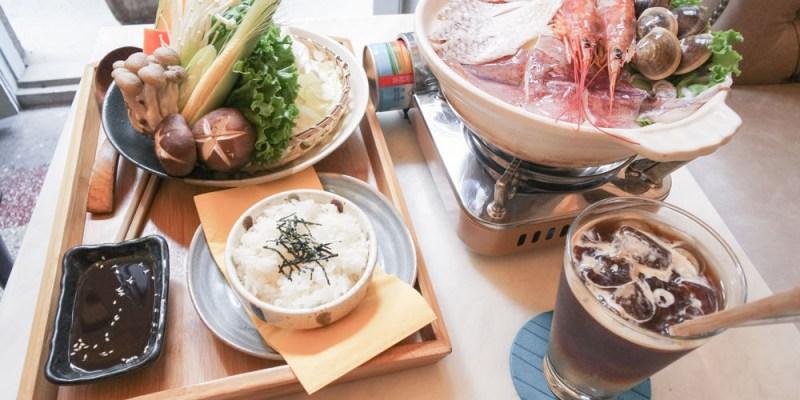 【台南中西區美食】位於新美街「熨斗目花珈琲 珈哩 cafe WUDAO」,有著特別甜點、餐點,空間充滿綠意,非常好拍網美必來!