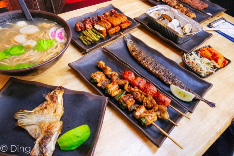 【台南永康美食】大推宵夜時段必吃的平價串燒,就在中華路上的獨領瘋燒!
