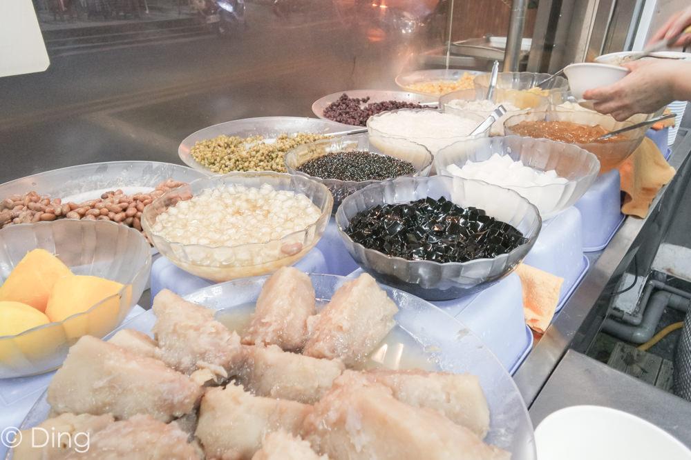 台南國華街美食 均一價50元用料實在樸實的美味八寶冰,「八寶彬圓仔惠」。