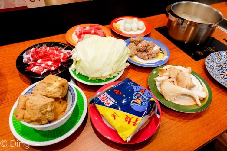 台南中西區 火鍋也能迴轉?Focus 10F噱頭十足「小XM 迴轉麻辣鍋」,有豐富的食材跟七種湯底可以選擇。