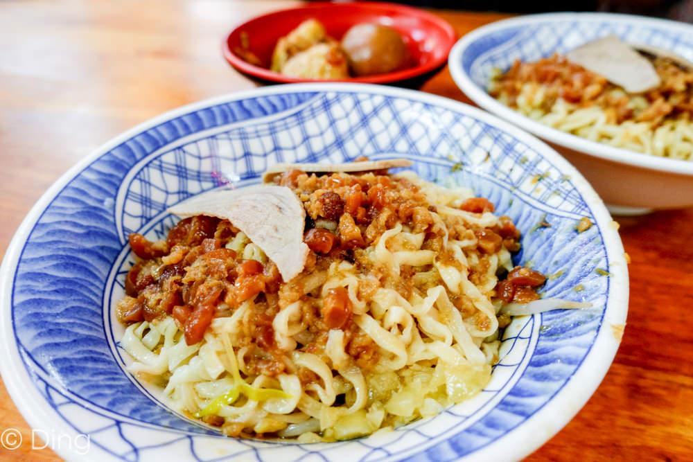 台南中西區 國華街大菜市百年麵店「福榮小吃-阿瑞意麵」,有饕客最愛的招牌意麵和餛飩,每一口得吃得到古早味。