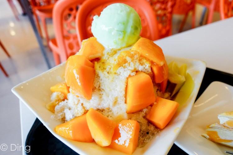 台南玉井芒果冰 「熱情小子芒果冰館」有豐富冰品、好吃芒果冰,還可吃正餐,另外還有附設停車場喔!