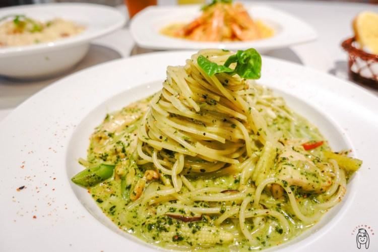 高雄鼓山 巨蛋捷運周邊美食,主打義式料理餐廳「好手義料理廚坊」,有美味的排餐、義大利麵、燉飯。
