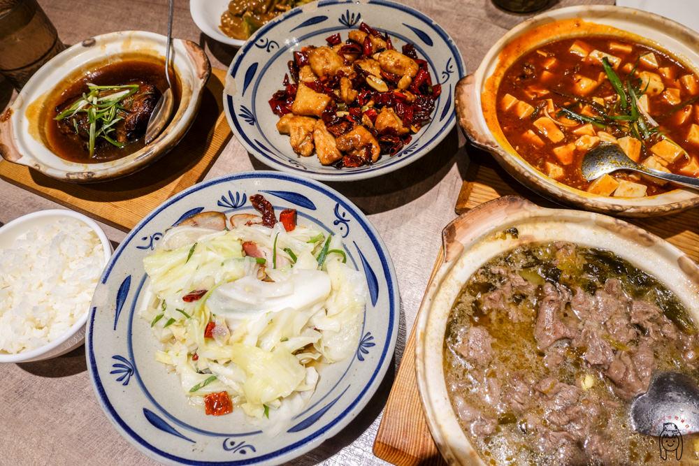 台南餐廳 長榮路來呷飯川食堂,台式口味川菜家常料理,合菜、熱炒餐廳首選,適合聚餐聚會喔!