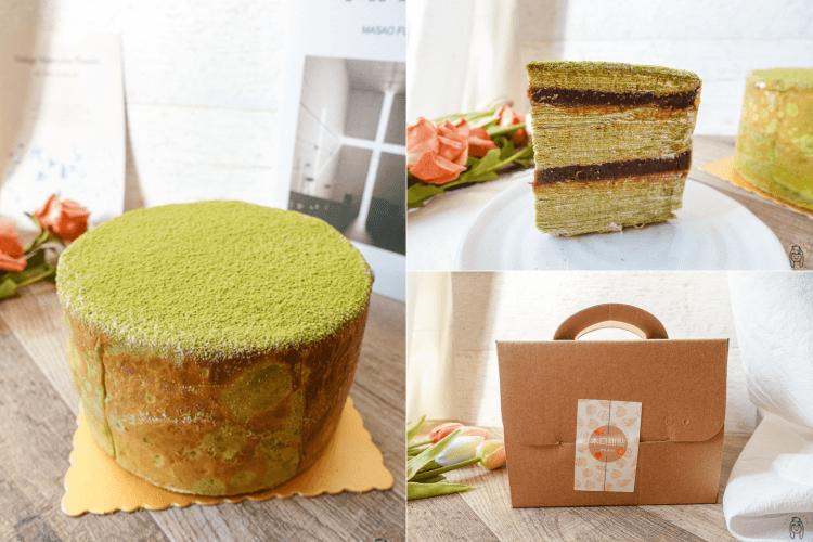 台南東區甜點 木口甜點工作室,低調隱藏版千層蛋糕,專售整顆千層蛋糕,很適合慶生喔!