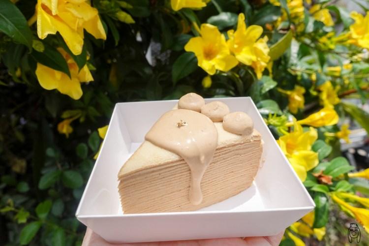 彰化甜點|霏妮嗜塔,超邪惡淋醬千層蛋糕,不定時開單切片千層,可訂購客製化蛋糕,適合送禮。
