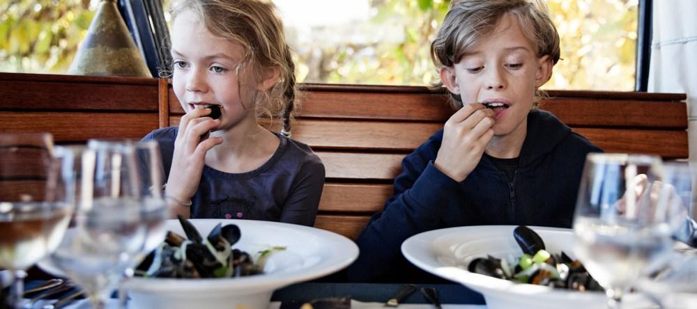 Kindertkaart kindvriendelijk restaurant