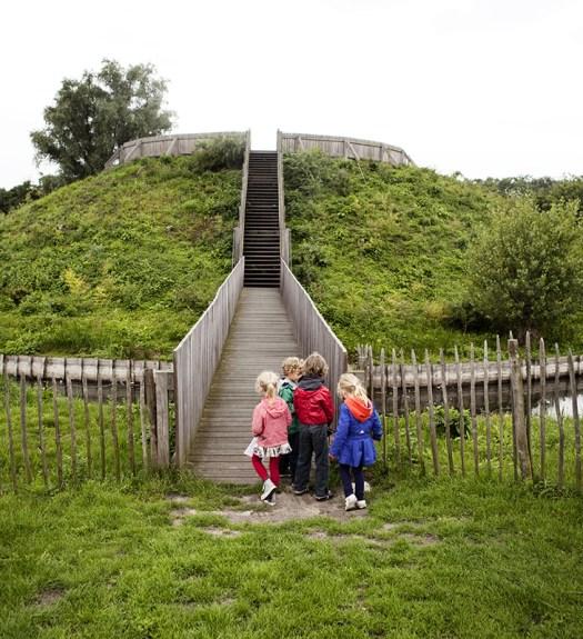 Mottenkasteel archeologische site