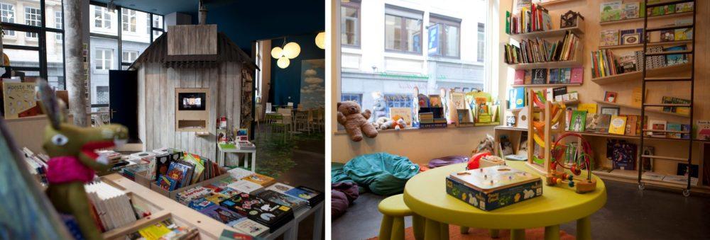 Brussel met kinderen / Brussels with kids: Le Wolf boekenwinkel Brussel