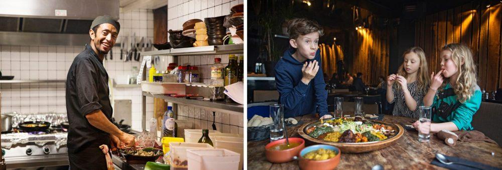 Brussel met kinderen / Brussels with kids: Toukoul restaurant Brussel
