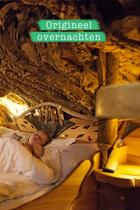Origineel overnachten met kinderen
