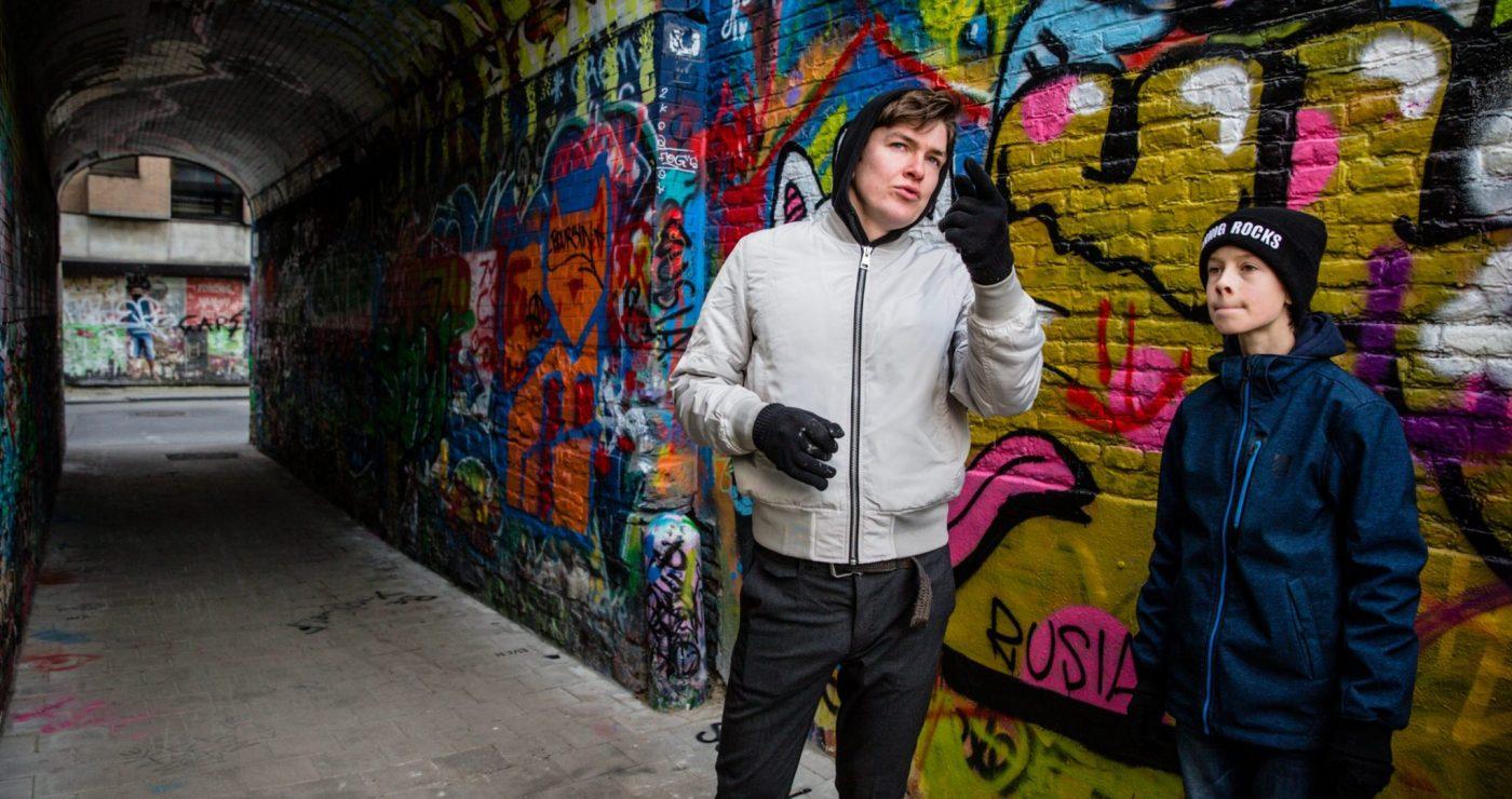 Graffiti wandeling Gent