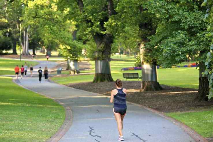 Exercise in open space like Park
