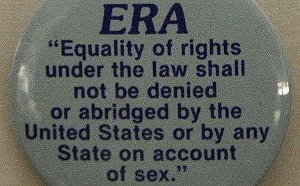 Support The Equal Rights Amendment