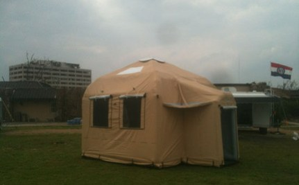 Hurricane Irene Survivors Could Find Shelter In LifeCube
