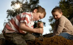 Could Playing in the Dirt Poison Your Kids?