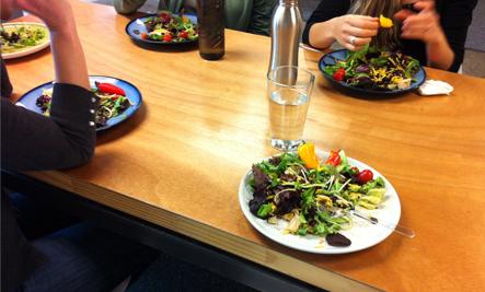 Salad Potluck: Healthy Office Lunch Idea