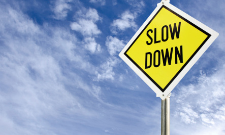 The Case for Slowing Down in 2015