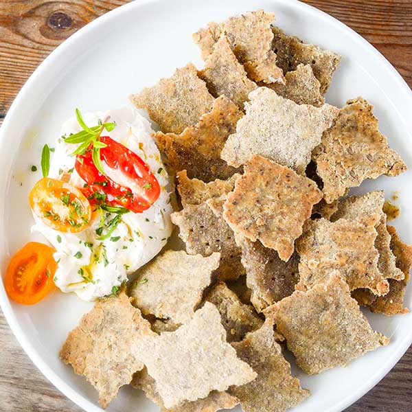 Brown Rice Crackers from Healthier Steps