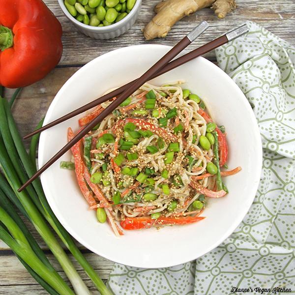 Sesame Noodles from Dianne's Vegan Kitchen