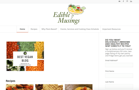 edible musings homepage