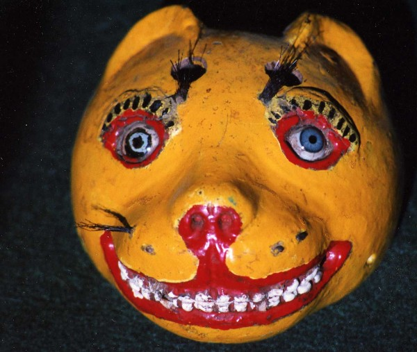 Jaguar Dance Mask, Guatmala
