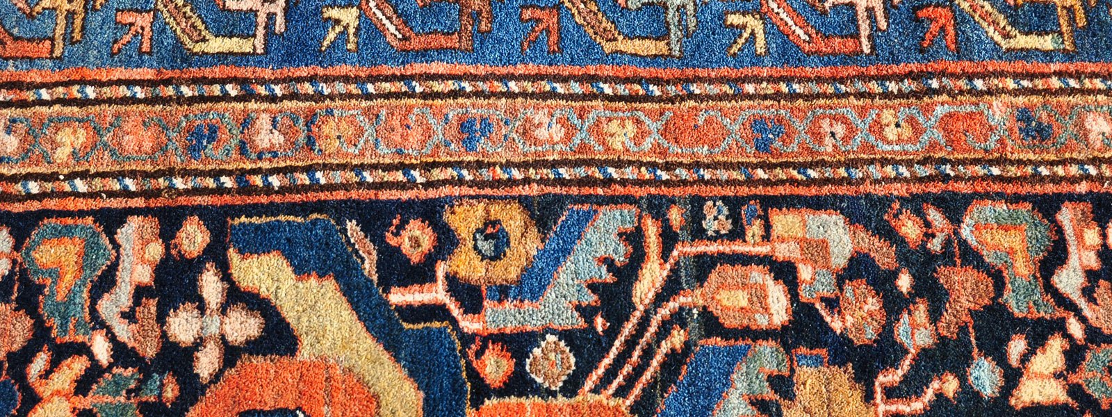 Persian Heriz Rug from Ahar — 12 ft. 5 in. by 9 ft. 5 in. — $1,350 — SOLD