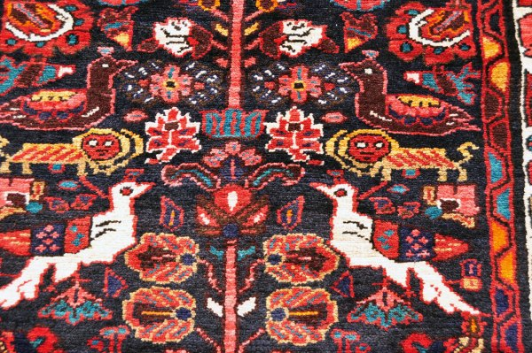 Bidjar Lion and Bird Rug Bi0010